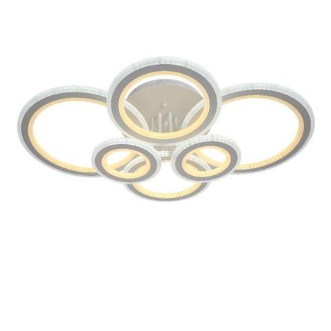 Потолочная светодиодная люстра NL-6600/2*3 D WT