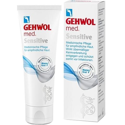 Крем для чувствительной кожи стоп GEHWOL Med Sensitive 75 мл