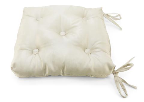 Подушка на стул Элегия кремовый