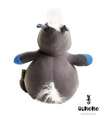 Подушка-игрушка антистресс Gekoko «Бегемот малыш Няша», голубой 4