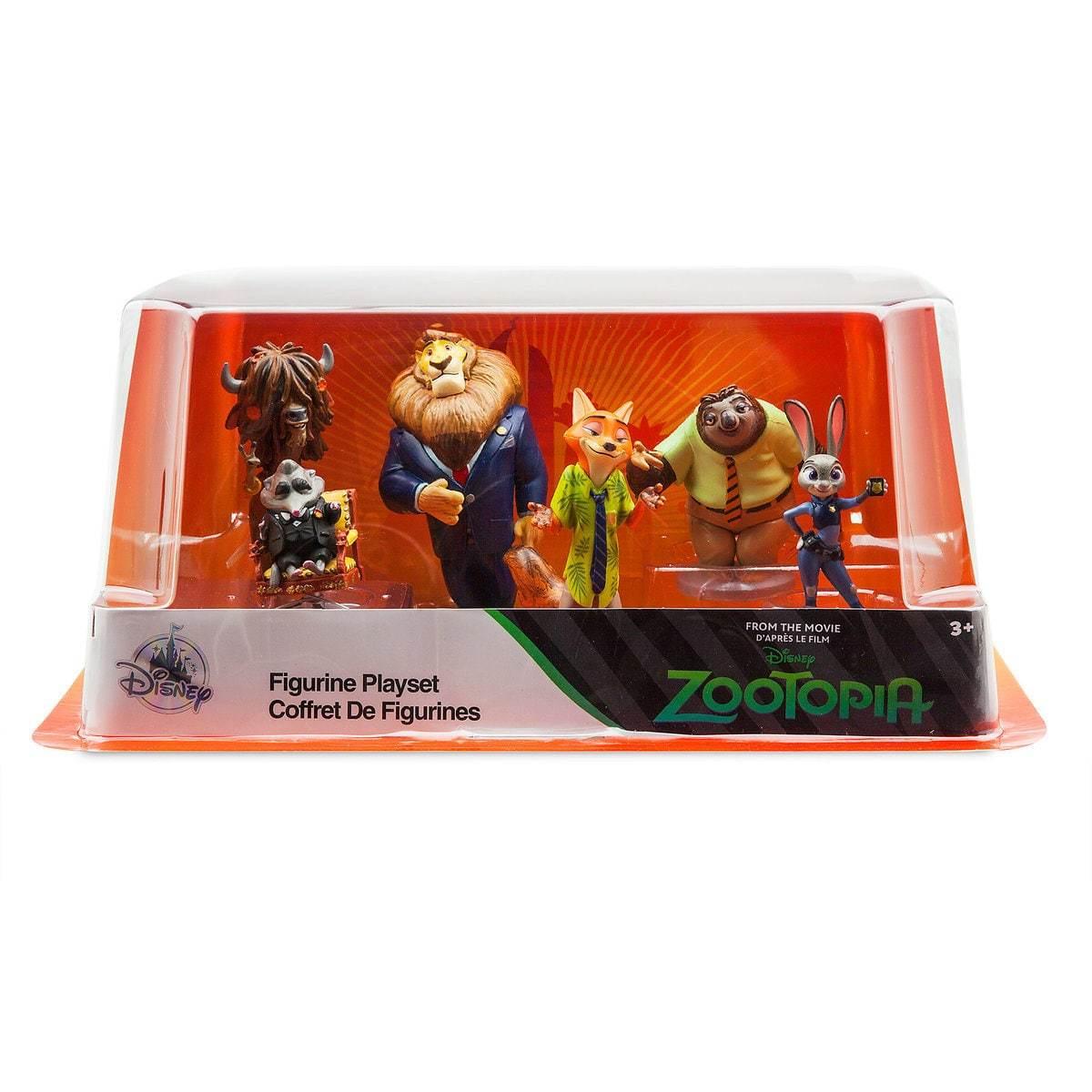 Набор фигурок «Зоотопия» Disney