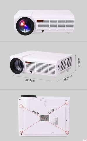 Проектор Everycom BT96 Android+Wi-Fi 1920х1080 FullHD 1080p