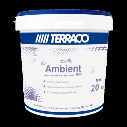Terraco Ambient FC RM/Террако Амбиент FC RM готовое акустическое финишное покрытие