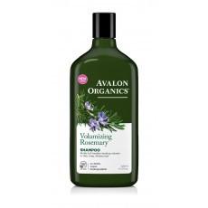 Avalon Organics Shampoo: Шампунь для волос с маслом розмарина (Rosemary Volumizing Shampoo), 325мл
