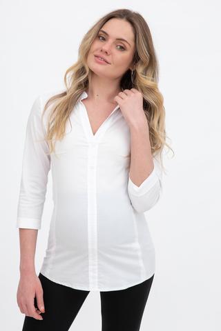 Рубашка для беременных 09054 белый