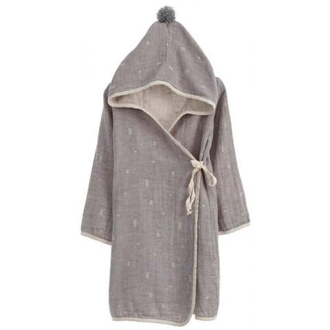 Детский банный  халатик IVY (серый)