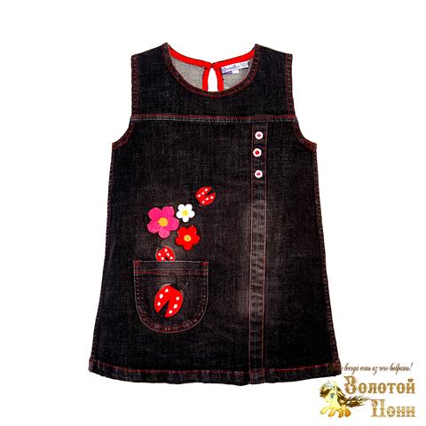 Платье джинсовое для девочки (2-5) 190320-OP768П.2