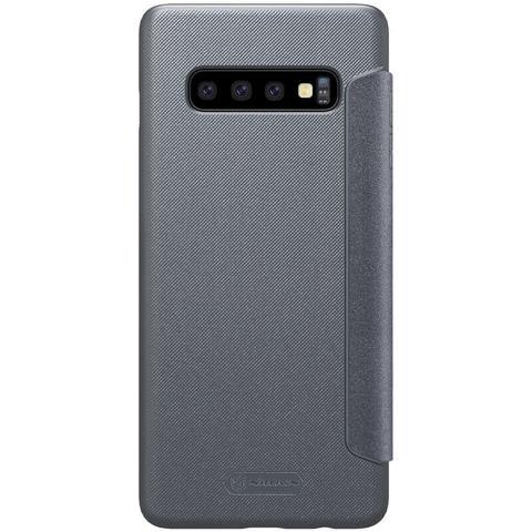 Чехол-книжка Nillkin Sparkle для Samsung Galaxy S10 (Черный)