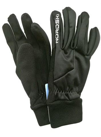 Лыжные перчатки Nordski Active Black WS