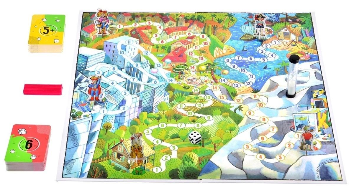 Настольная игра Экивоки для друзей - игровое поле