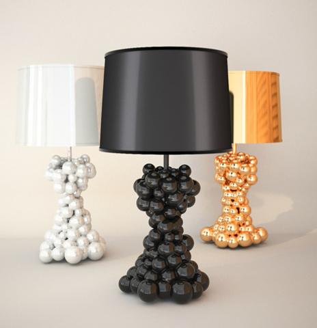 лампа настольная Bubble