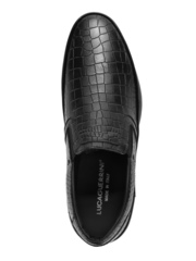 Кожаные туфли Luca Guerrini 9204 синие