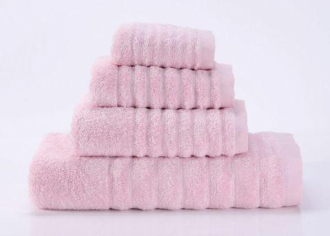 Wellness-3 розовое махровое  полотенце Valtery