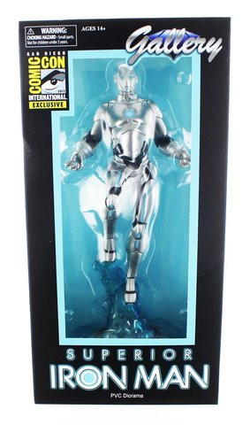 Марвел Галерея фигурка Железный Человек — Marvel Gallery Iron Man Superior