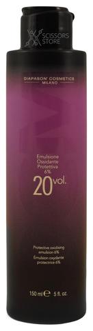 Окисляющая эмульсия со смягчающим и защитным действием DCM Protective Oxidizing Emulsion 6% 20 Vol. 150 мл