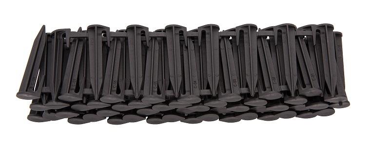 Колышки для установки ограничительного провода для робота газонокосилок Landroid (100 шт.)