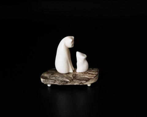 Фигурка «Кошка и мышь»