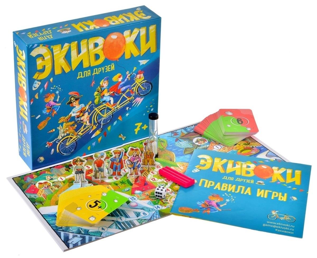 Настольная игра Экивоки для друзей - комплектация
