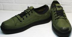 Современные туфли мужские. Кроссовки демисезонные Luciano Bellini C2801 Nb Khaki.