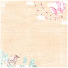 Набор скрапбумаги Dreamy baby girl 30,5x30,5 см 10 листов