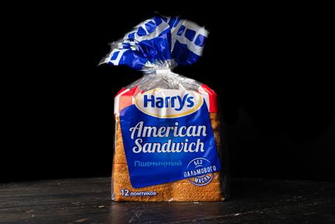 "Хлеб пшеничный American Sandwich ""Harrys"", 0.470 кг"