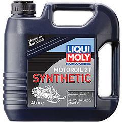 2246 LiquiMoly Синт.мот.маслод/снегох. Snowmobil Motoroil 2T Synthetic TC (4л)