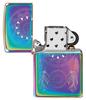 Зажигалка Zippo Dream Catcher с покрытием Multi Color, латунь/сталь, разноцветная, 36x12x56 мм