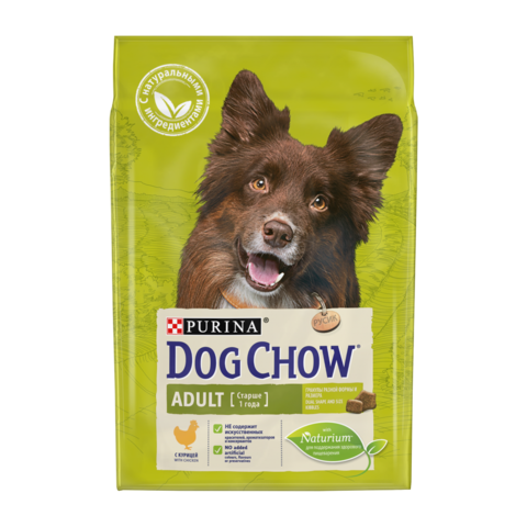 Dog Chow Adult Сухой корм для собак с Курицей