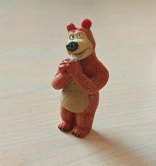 Силиконовый молд Медведь