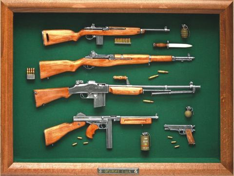 WW2 US guns