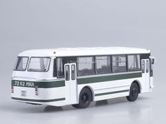 LAZ-695R white-green Soviet Bus (SOVA) 1:43