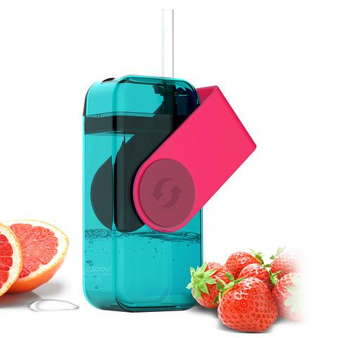Мини-бокс для сока Asobu Juicy box (0,29 литра), красный