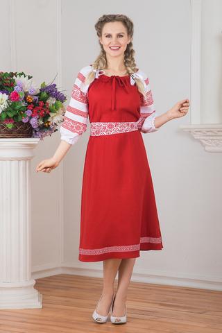 Русский костюм для народного танца фото