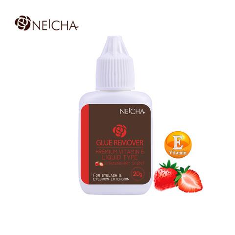 Ремувер Neicha жидкий с витамином Е клубника 20мл