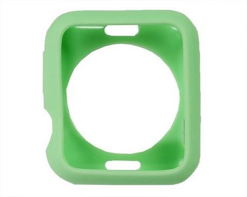 Чехол Watch 2/3 series 42 мм TPU Candy | зеленый