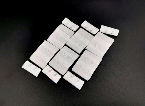 Застежка, ОПТ, 2х2, белые, (Арт: Z2-001), 50 шт