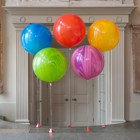 Большой шар-гигант Агат (цвет на выбор)