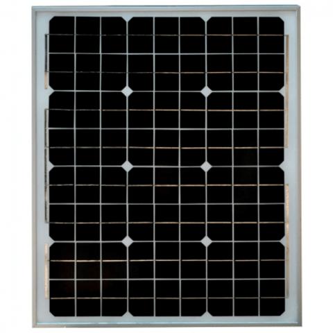 Монокристаллическая солнечная батарея SilaSolar 50Вт 12B