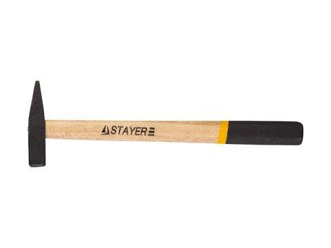 STAYER 100 г молоток слесарный с деревянной рукояткой