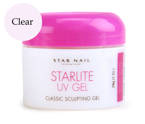 Гель для типсов прозрачный StarLite Clear 28,4 г