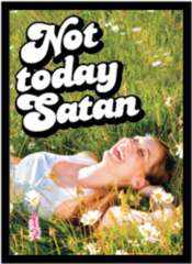 Not Today Satan Matte Sleeves 50