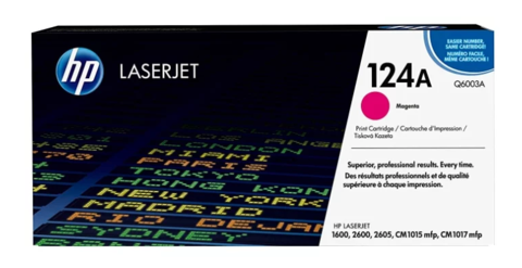 Оригинальный картридж Q6003A (№124A), пурпурный