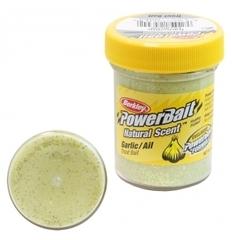 Паста Berkley PowerBait Natural Scent Trout Bait (Чеснок/желтый)