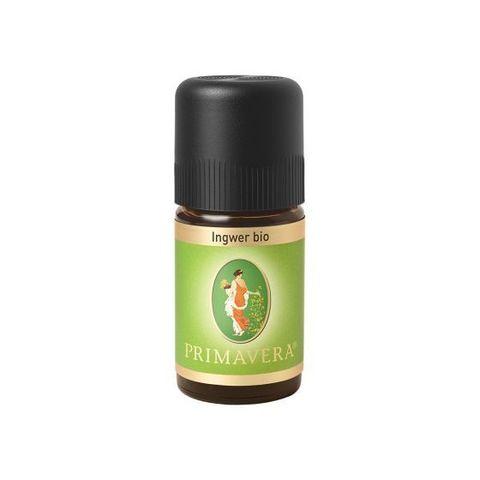 Эфирное масло Имбиря био Primavera, 5 мл