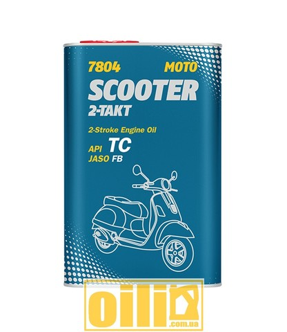 Mannol 7804 SCOOTER 2-TAKT API TC 1л