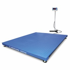 Весы платформенные Невские ВСП4-3000-150150, 3000кг, 500/1000гр, 1500х1500, RS232, стойка, с поверкой, выносной дисплей
