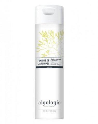 Очищающий матирующий тоник для жирной и смешанной кожи , Algologie,200 мл