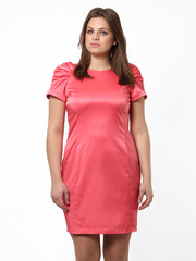 1915-6 платье женское, розовое