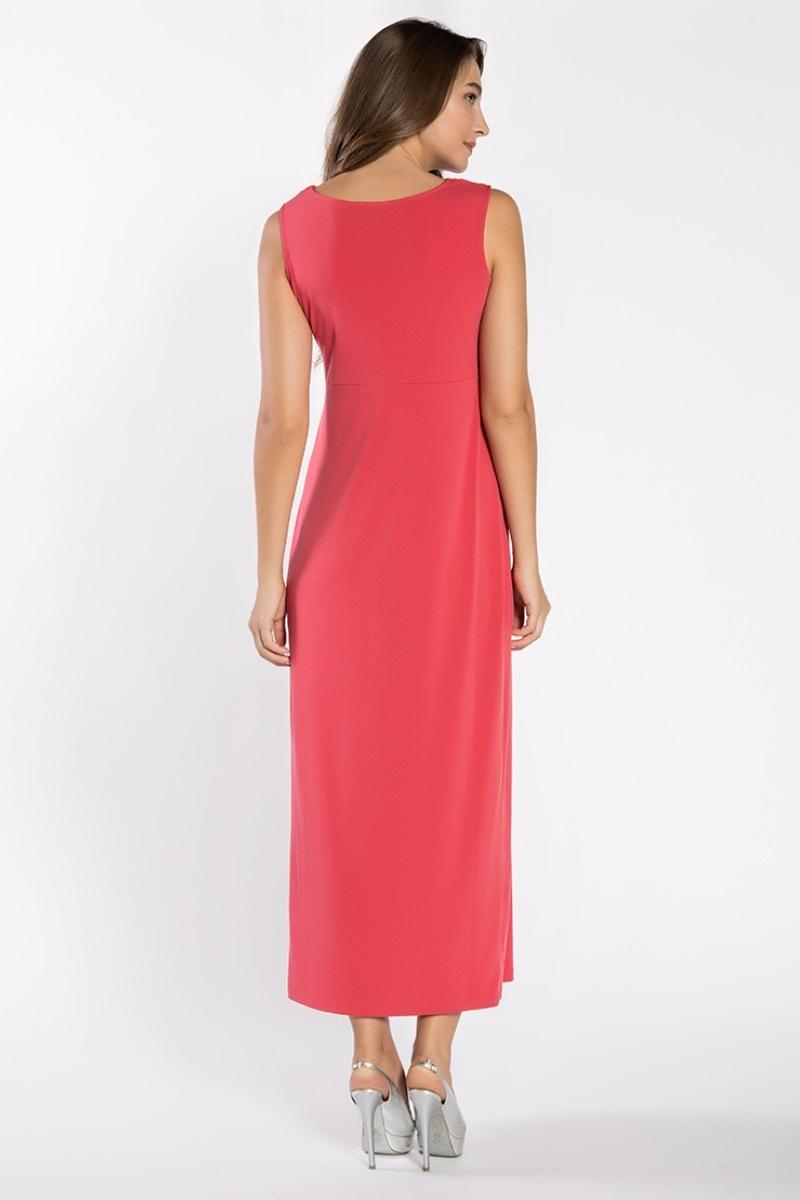 Фото платье в пол для беременных GEBE от магазина СкороМама, красный, размеры.