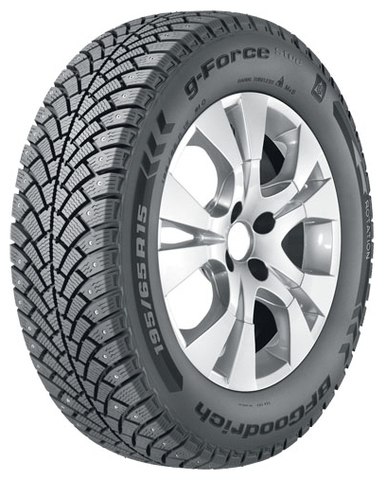 BF Goodrich G Force Stud GO R15 195/60 92Q шип